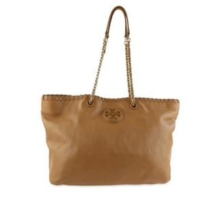 Tory Burch McGraw Whipstitch Chain Slouchy Tote